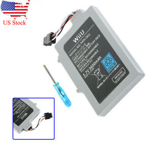 Rechargeable Extended Battery Pack For Nintendo Wii U Gamepad 3600mAh 3.7V