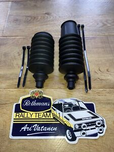 Ford Escort Mk1 Mk2 Steering Rack Boots Rack Gaiters RHD & LHD Rally Race GRP4