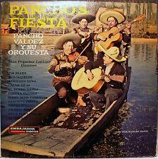 LP- Pancho's Fiesta- Pancho Valdez Y Su Orquesta- Discos Embajador E-6024 -Rare