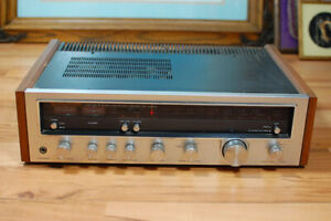 Vintage 1977 Kenwood KR-4600 Stereo Receiver Amplifier made in Japan Working