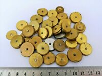 Collection of Elgin Pocket Watch Mainspring Barrel Parts with Arbors (CO10)