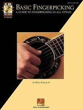 Basic Fingerpicking: A Guide to Fingerpicking in All Styles Book & Online Audio
