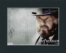 TOM WILKINSON THE LONE RANGER HAND SIGNED 10X8 MOUNTED AUTOGRAPH PHOTO INC COA
