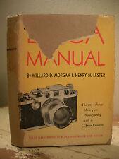 The Leica Manual Morgan 1951 Hc/Dj 35mm Camera Photography Techniques Tips