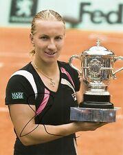 Svetlana Kuznetsova Tennis 8x10 Photo Signed Auto W/COA