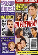 Soap Opera Digest Magazine - December 23, 2013 - Year In Review, Tristan Rogers