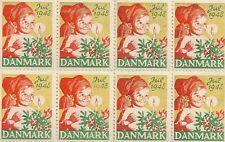 STAMP / TIMBRE DU DANEMARK DANMARK / ENFANT NOEL / JUILLET 1948 **
