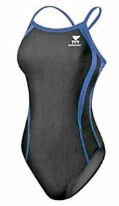 TYR Sport Women's Swimsuit 32 Black One-Piece Diamondfit Swimsuit