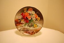 "George Vieonne Morley Collector Plate ""Roses"""
