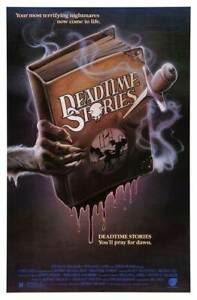 """DEAD TIME STORIES 1986 repro US one sheet poster 41x27"""" rare 80s horror FREE P&P"""