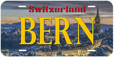 Bern Switzerland Novelty Auto Car Tag License Plate