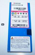 (10) LPGT010210ER-GM PR1525 KYOCERA MILLING INSERTS FOR MFH RAPTOR MICRO