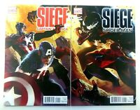Marvel SIEGE (2010) SPIDER-MAN Captain America CONNECTING Covers NM Ships FREE!
