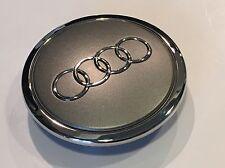 Nuevo Original Audi A3 A4 A6 A8 Q3 Q5 TT R8 RS3 RS4 RS6 TTRS 4X Tapa Centro De Rueda