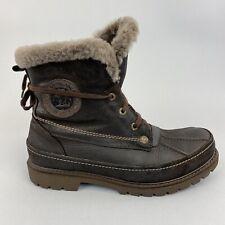 Panama Jack Dark Brown Chukka Desert Walking Hiking Outdoor Lined Boots EU42 UK8