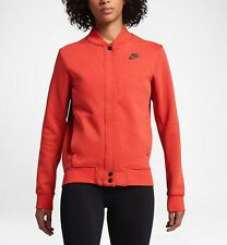 Nike Tech Fleece Women's Destroyer Jacket 'Orange Heather' (S) 835544 852