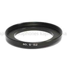 40.5-52mm Step-Up Metal Lens Adapter Filter Ring / 40.5mm Lens to 52mm Accessory