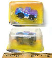 1994 Galoob Micro Machines 1/87th Slot Cars Very VERY Rare PURPLE PICKUP TRUCK !