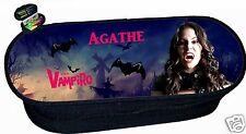 trousse à crayons REF 208 chica vampiro  personnalisée avec prénom