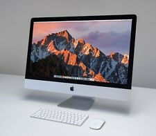 "FAST 2017 27"" 5K Apple iMac 3.4 GHz Kaby Lake i5 1TB Fusion 8GB RAM + Warranty!"