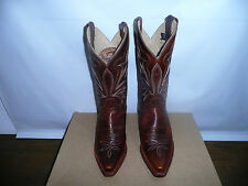 Justin Boots Women's Cattleman 11 Boot Narrow Square Toe Leather 5.5 C US