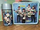 Beatles Lunchbox with Thermos 1965 ~ Authentic Vintage Collectible Antique Rare