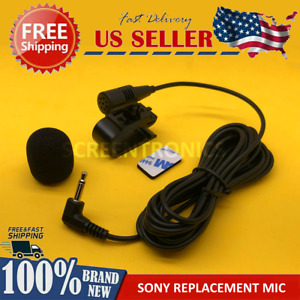 NEW Microphone for SONY MEXGS620BT Car Stereo Radio Handsfree Mic Replacement