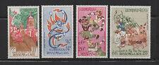 poste Aérienne 1962 Royaume du Laos 4 timbres neufs /T683