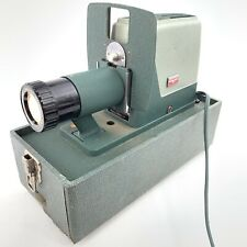 Vintage Argus 300 Automatic 35mm Slide Changer Projector Green Free Shipping