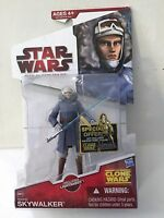Star Wars The Clone Wars 2009 Anakin Skywalker CW42 Hasbro Action Figure