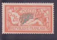 "FRANCE STAMP STAMP 145 "" MERSON 2 F ORANGE AND GREEN BLUE "" NEW x TB"