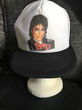 VINTAGE MICHAEL JACKSON BAD TRUCKER BASEBALL CAP HAT