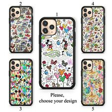 Disney Cartoons case for iphone 11 XR Pro SE Max X XS 8 plus 7 6 TPU cover SN