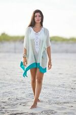 Sexy Beach Crochet Cover Up Kaftan Lace Dress Summer Fringe Slip Wrap Poncho 641