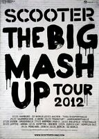 SCOOTER - 2012 - Tourplakat - The Big Mash Up - Tourposter