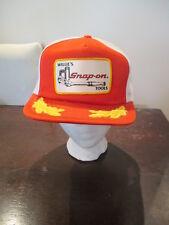 Vintage Willie's Snap-on Tools Trucker Hat Snapback Mesh