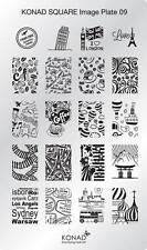 Konad Stamping Nail Art Square Image Plate 9