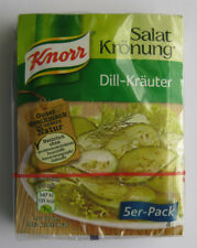 KNORR 5-pack Salat Krönung Salad dressing mix DILL-KRAEUTER German original item