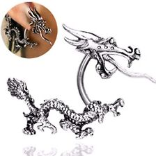 New! Curved Dragon with Tail Stainless Steel