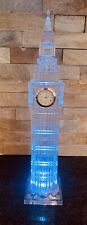 Big Ben London Clock Tower with Light Up Base and Quartz Watch