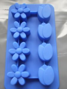 Silicone Chocolate Mould- Tulip And Daisy Flower