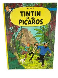 TinTin Et Les Picaros 1976 Herge Casterman French Classic Comic Book Hardcover