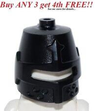 ☀️NEW Lego Boy/Girl Minifig Hat Kingdoms Black HELMET Castle Knight