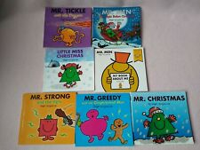 Mr Men & Little Miss Book Bundle (7 books). All in great condition!