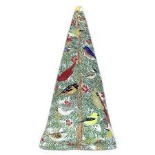 Alice's Cottage Cotton Holiday Christmas Tree Premium North American Catnip Toy