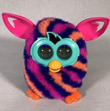 Furby Boom 2012 Electronic Pet Interactive Pink Orange Purple Stripe Hasbro
