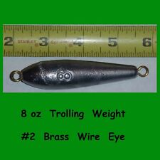 5  -  8 oz   Inline Trolling  lead  weight  fishing  Sinkers