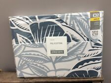 NEW NEXT 2 Pack Astrid Floral Blue White Printed Single Duvet Bed Sets Bedroom