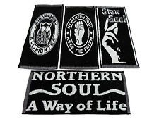 4 Northern Soul Bar Pub Kneipe Towel Tücher Wigan Casino Mod Skinhead Scooter