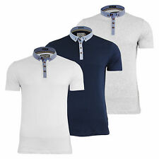 Patternless Polo Regular Fit Casual Shirts for Men